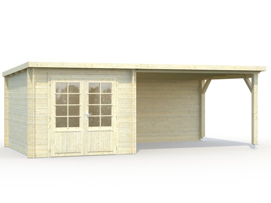 Flat Roof Cabins